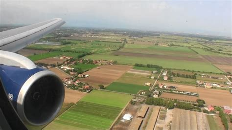 Welcome to Italy!!! Gorgeous HD 767 Landing At Rome