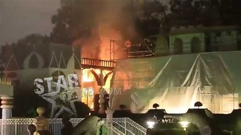 **BEST VIDEO** Fire Breaks out at Disneyland on the famous