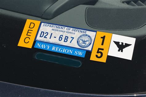 Say farewell to Navy windshield decals - The San Diego
