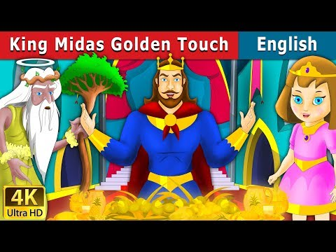 King Midas' Golden Touch Character Analysis Storyboard