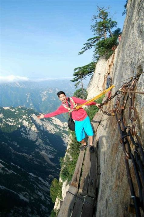 The Most Dangerous Hiking Trail in the World - Barnorama