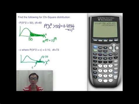 Calculating Chi-Square Distribution Probability and