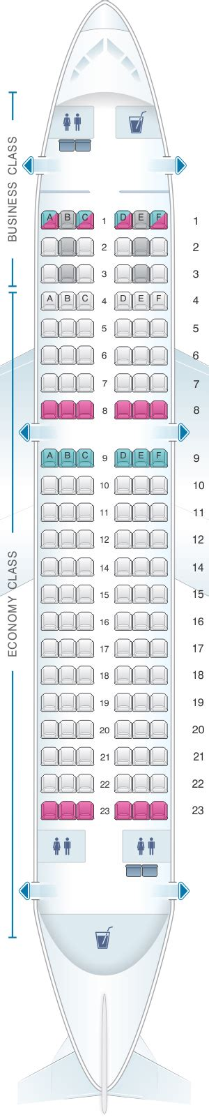 Seat Map Turkish Airlines Airbus A319 132 | SeatMaestro