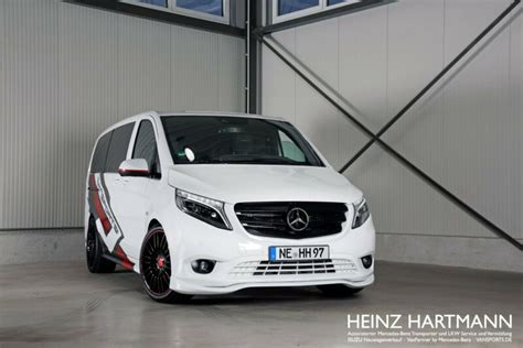 """white SportsVan"": Mercedes Vito 119 Mixto by Hartmann"