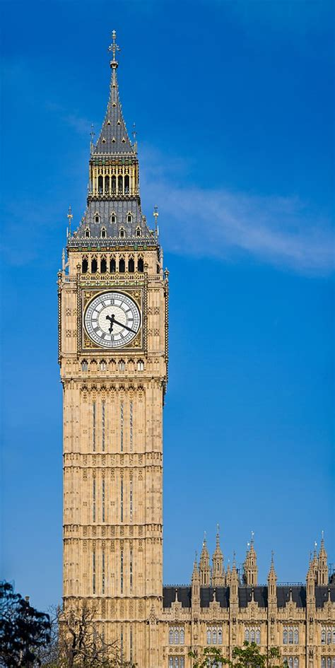 File:Clock Tower - Palace of Westminster, London - May