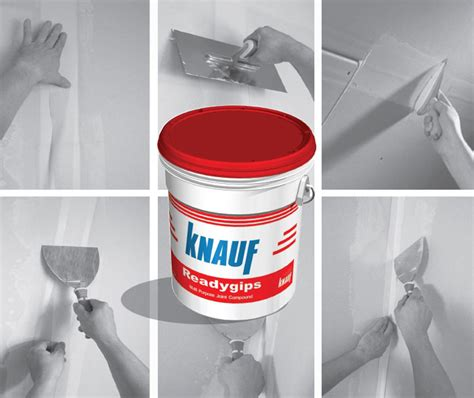 Knauf Readygips Joint Filler and Finishing Compound (Knauf