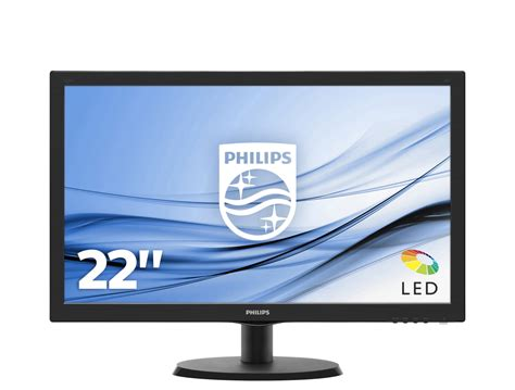 Philips V Line LCD monitor with SmartControl Lite