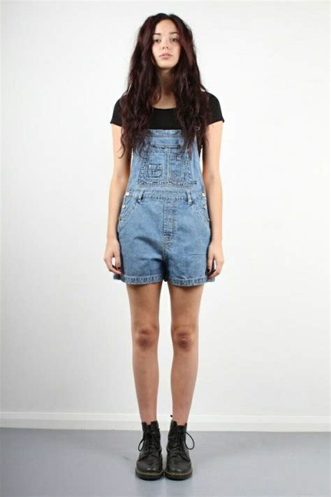 dungaree outfit | Tumblr