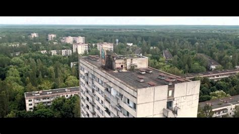Pripyat : The ghost town filmed by a drone (1080p)