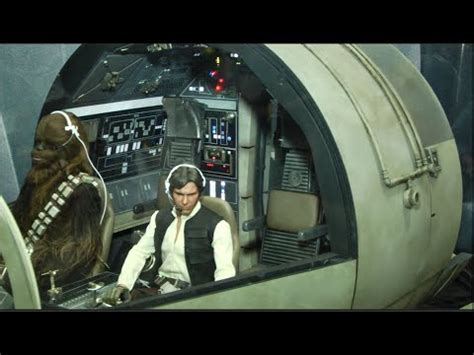 Hot Toys 1/6 scale early look Star Wars Millennium Falcon