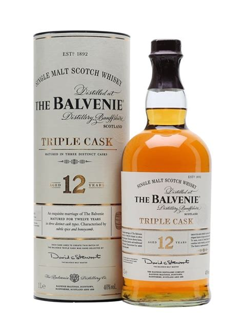 Whisky BALVENIE (The) 12 years old Triple Cask 40%