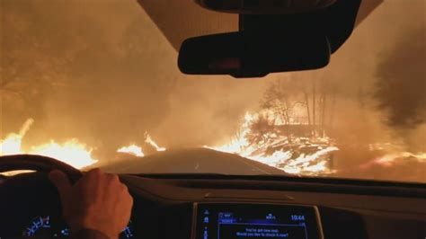How to Drive Through a Fire   Inside Edition