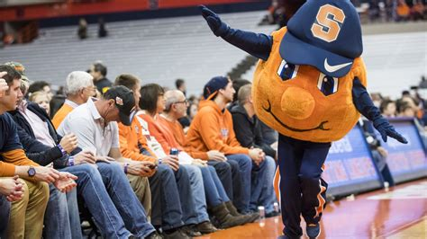 What it's like to be a college basketball mascot during