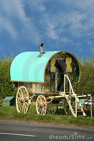 Old Gypsy Caravan Royalty Free Stock Images - Image: 3928689