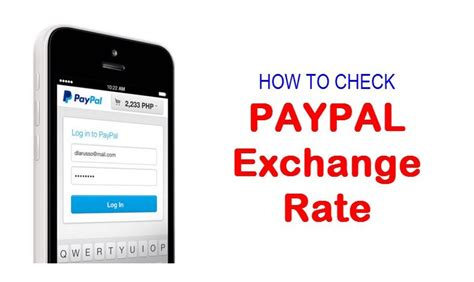 How to Check Paypal Exchange Rate USD to PHP – Forex