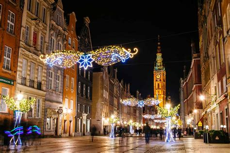 Gdańsk's Stunning Christmas Market and the Long Market