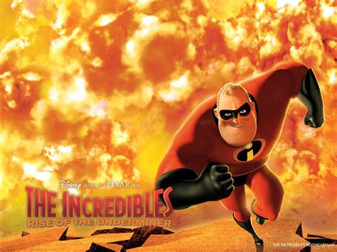 The Incredibles Rise of the Underminer Cartoon Full HD