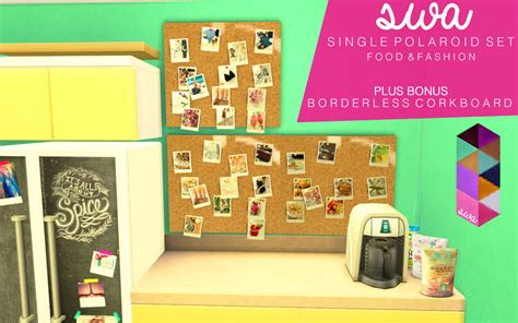 Sims 4 CC's - The Best: Polaroid Set by Swimmingwithabbi