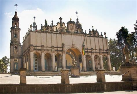 File:Panoramic View of the Holy Trinity Cathedral, Addis