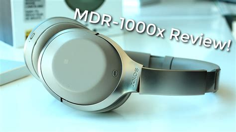 Sony MDR-1000x: An HONEST Review - RecordingNOW
