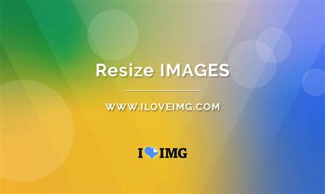 Resize multiple images at once!