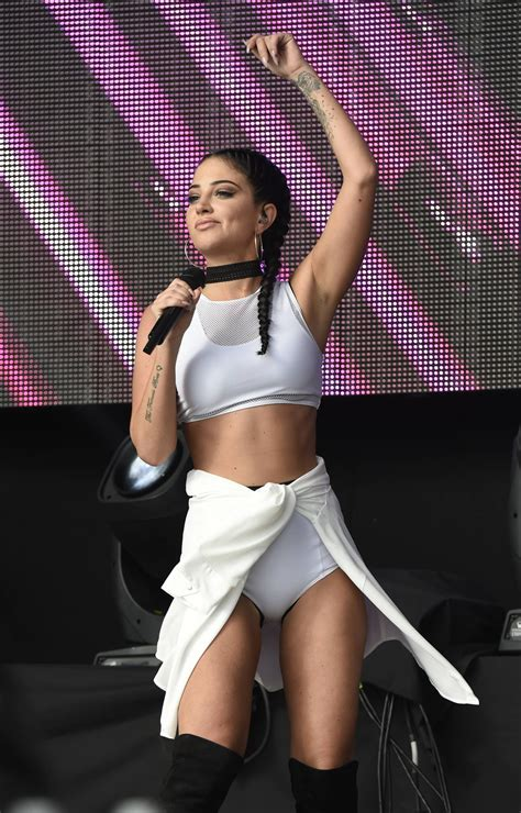 Tulisa Contostavlos - Performing at the Betley Concerts in