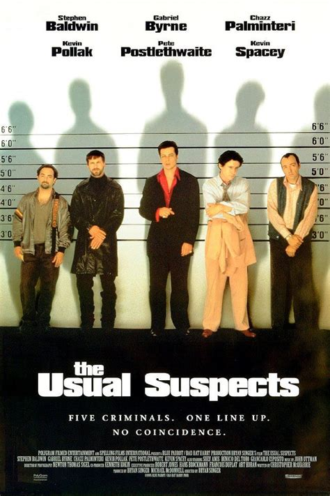 The Usual Suspects (1995) | The usual suspects movie, Good