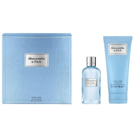 Abercrombie & Fitch First Instinct Blue for Her Gift Set