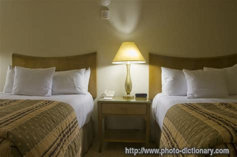 double bed room - photo/picture definition at Photo