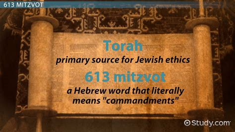 What Is the Moral Code of Judaism? - Video & Lesson