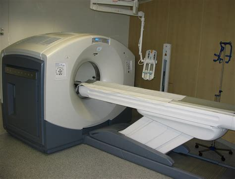 an example of a positron emission tomography machine