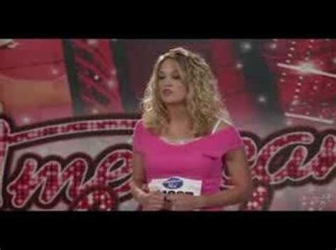 Carrie Underwood Audition - YouTube